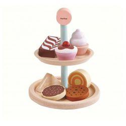 Le plateau de pâtisserie