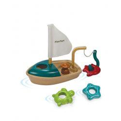 Bateau de pêche qui va dans le bain!
