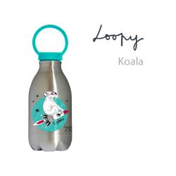 Gourde inox Loopy 450 ml koala