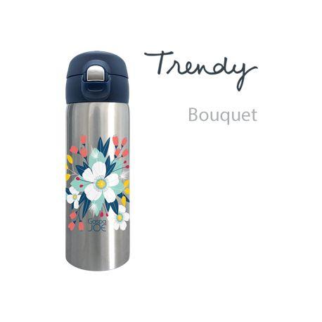 Mug isotherme trendy inox bouquet