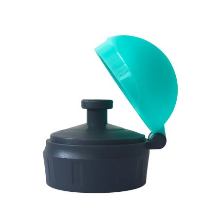 Bouchon sport pour gourde loopy  TURQUOISE