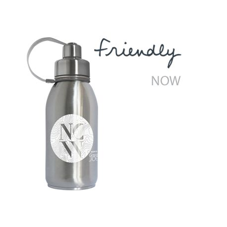 Gourde Friendly isotherme inox NOW 700 ml