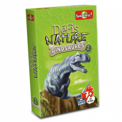 Jeu de défis nature - Dinosaures 1