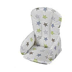 Coussin réducteur chaise haute tissu Etoile