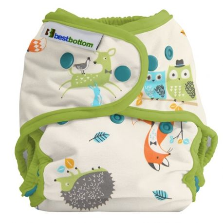 Couche lavable multi tailles BestBottom Forêt