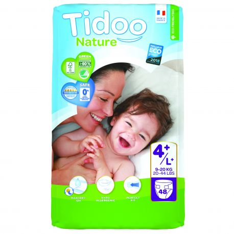 9 à 20 kgs T4+ couches night & day TIDOO