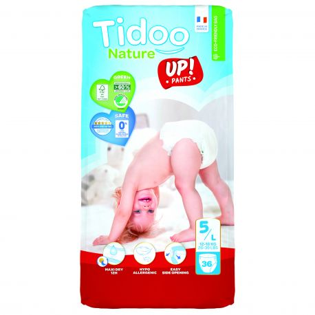 STAND UP 12 à 18 kgs T5 couches culottes  TIDOO