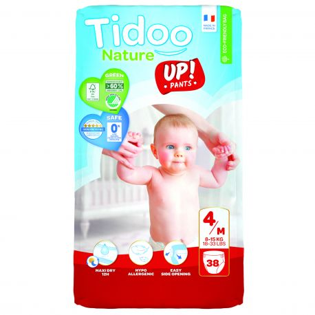 STAND UP 8 à 15 kgs T4 couches culottes  TIDOO