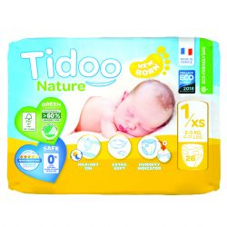 mini pack 2 à 5 kgs T1 couches night & day TIDOO