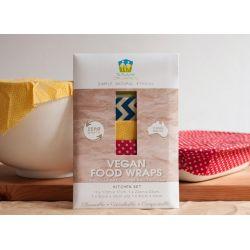 Emballage Vegan alimentaire réutilisable  - Set Cuisine