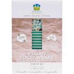 Emballage Vegan alimentaire réutilisable  - Set Découverte