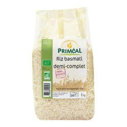 Riz Basmati 1/2 complet 1 kg - Priméal
