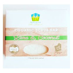 Savon Citron Lime &  Coco Exfoliant - The Familly Hub