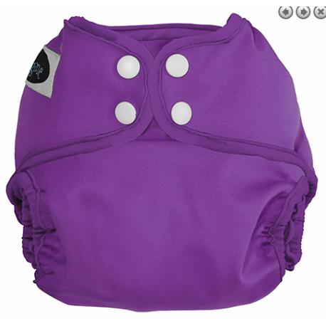 Couche lavable multi tailles Imagine - Violet