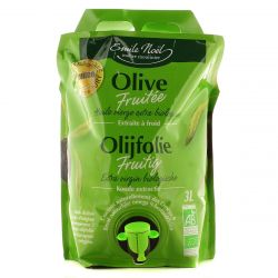 Huile d'Olive Vierge Extra Fruitée Bio 3L - Emile Noël