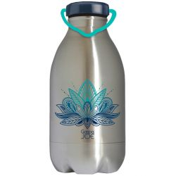 Gourde inox DAILY lotus 450 ml