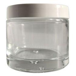 Pot en verre avec couvercle 125 ml  DIY