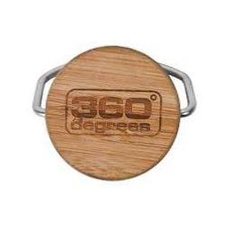 bouchon inox et bambou pour gourdes 360degrees