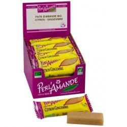 Barre Pâte d'amande bio pistache 25g - Perlamande