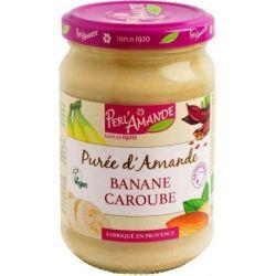 Purée d'amande Banane Caroube - 300g - Perlamande