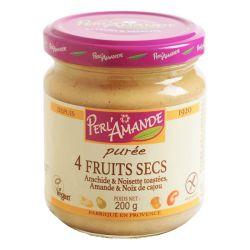 Purée 4 Fruits Secs 200gr - Perlamande