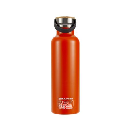 gourde isotherme 750ml orange