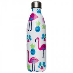 gourde isotherme SODA flamants roses