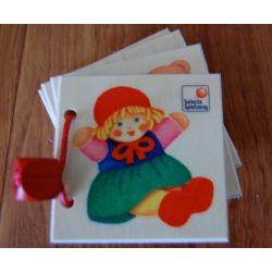 """Mini album en bois """"mes objets préférés"""""""