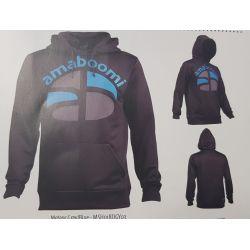 Sweat Homme Ross Meteor Grey/Blue Amaboomi 100% recyclé