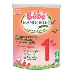 Préparation pour nourrissons riz 1er âge 800g - MANDORLE
