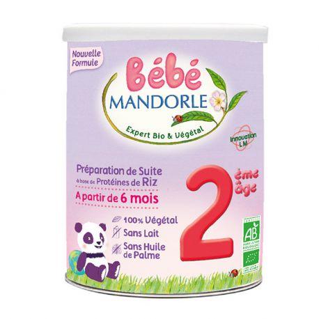 Préparation pour nourrissons riz 2ème âge 800g - MANDORLE