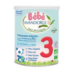Préparation de céréales 3 à complément protéiné 800g - MANDORLE
