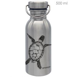 Gourde inox SPORTY 500 ml inox Tortue