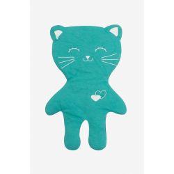 Doudou en coton bio LILOU le chat