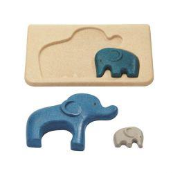 Mon premier puzzle - elephant