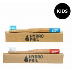 Brosse à dents en bambou - Bleu foncé- Hydrophil