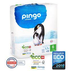 Pingo. Couches T6 écologiques jetables. 16-30 kgs
