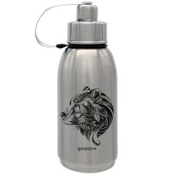 Gourde Friendly isotherme inox Tête d'Ours 700 ml