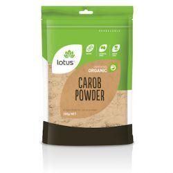 Poudre de caroube biologique 250g - Lotus DLUO 19/07/21