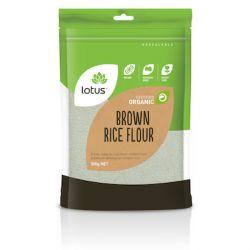 Farine de riz brun biologique 500g - Lotus