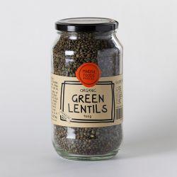 Lentilles vertes biologiques 900g