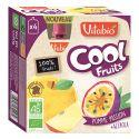 Cool fruits pomme Passion - gourdes de fruits - 4x90g DLUO 05/20
