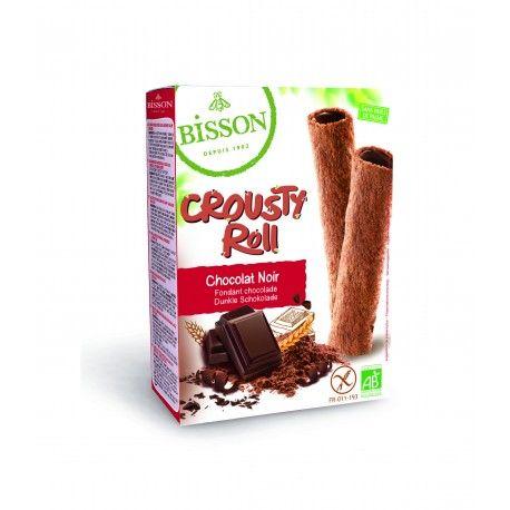 PAIN DES FLEURS Biscuits fourrés cacao noisette - crousty roll 125g
