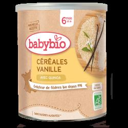 Céréales au quinoa vanille