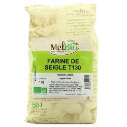 Farine de Seigle Bio T130 meule 1kg