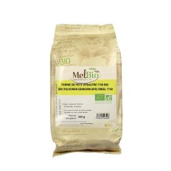 Farine intégrale de petit épeautre T150 bio Melbio-0,5kg