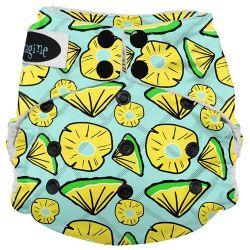 Couche lavable multi tailles Imagine - ananas