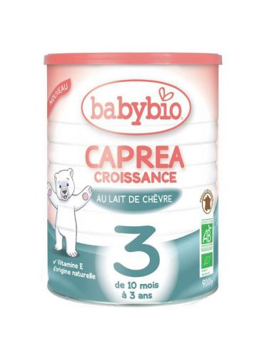 Lait au lait de chèvre bio Capréa 3 dés 10 mois
