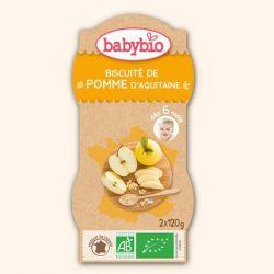 Biscuité de pommes d'Aquitaine  2X120 grs 6+