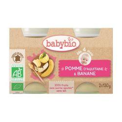 Pomme banane dès 4 mois 2X130 grs